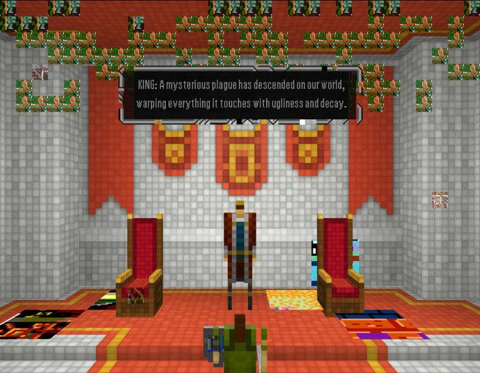 Скриллекс представил 3D-квест в духе Legend Of Zelda. Изображение №4.