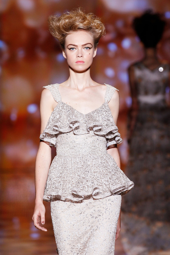 New York Fashion Week: Badgley Mischka Spring 2012. Изображение № 10.
