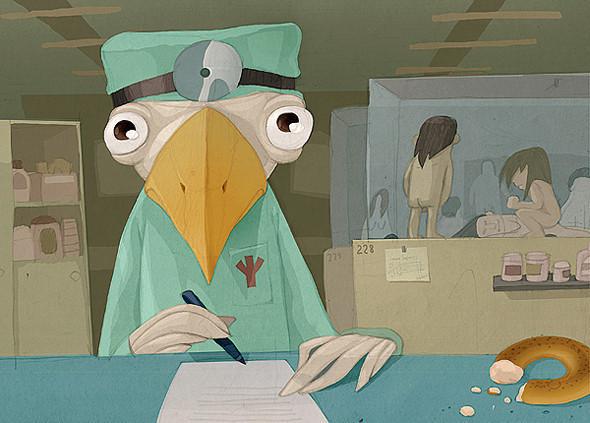 Красивые иллюстрации Андрея Гордеева. Изображение № 18.