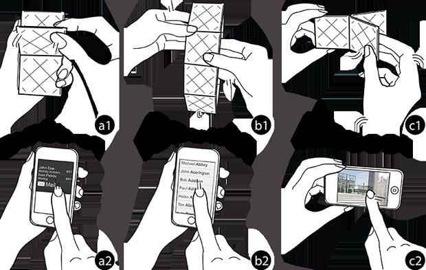 В Бельгии представили прототип смартфона-трансформера. Изображение № 1.