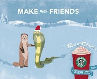 STARBUCKS : holiday drinks commercial. Изображение № 5.