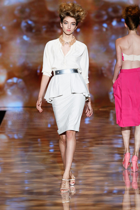 New York Fashion Week: Badgley Mischka Spring 2012. Изображение № 6.
