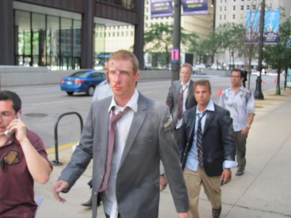 Съемки Трансформеров 3 в Чикаго. Изображение № 39.