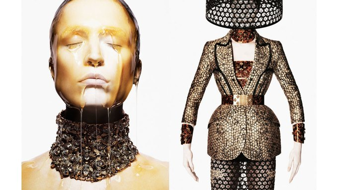 Alexander McQueen, Celine и LUBLU Kira Plastinina показали новые кампании. Изображение № 5.