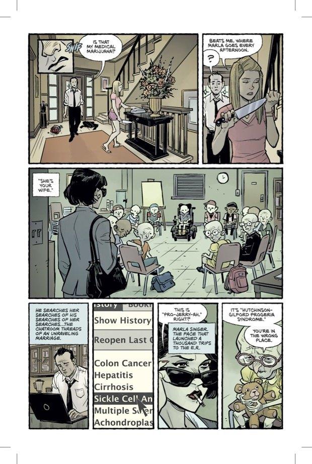 Выложены 6 страниц комикса-сиквела «Бойцовского клуба». Изображение № 5.