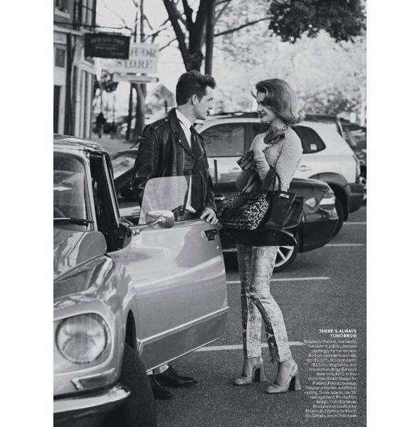 5 новых съемок: Amica, Elle, Harper's Bazaar, Vogue. Изображение № 37.
