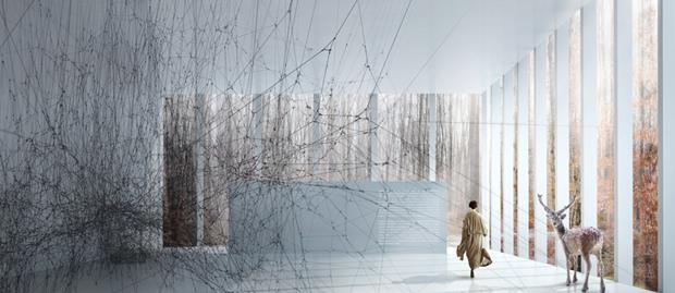 Архитектура дня: «перекрученный» музей авторства BIG под Осло. Изображение № 13.
