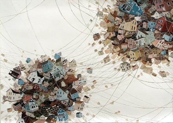 Города сточки зрения иллюстратора ЭмиКэйси. Изображение № 16.