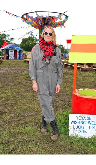Изображение 24. Уличный стиль на фестивале Glastonbury.. Изображение № 24.