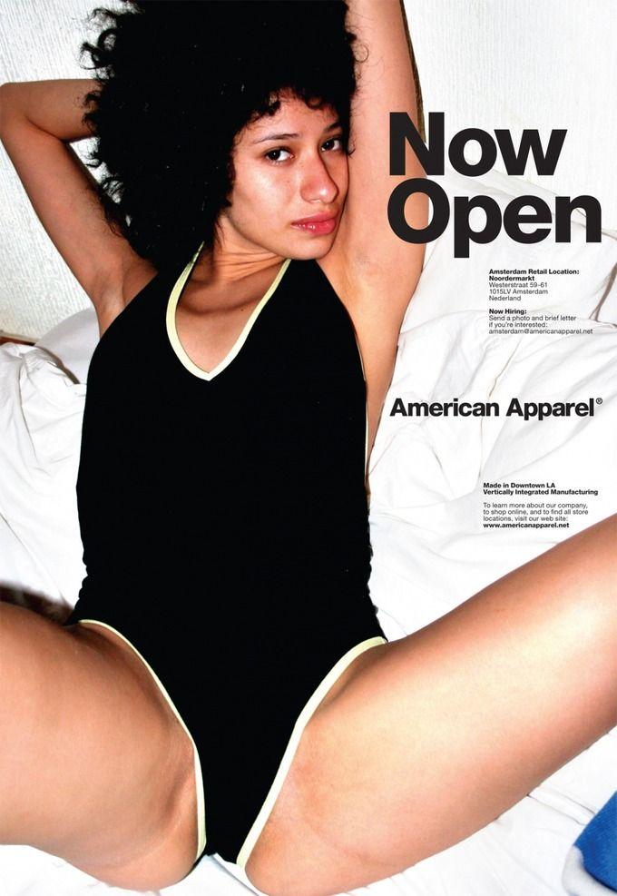 Рекламу American Apparel запретили из-за секса и молодости. Изображение № 4.