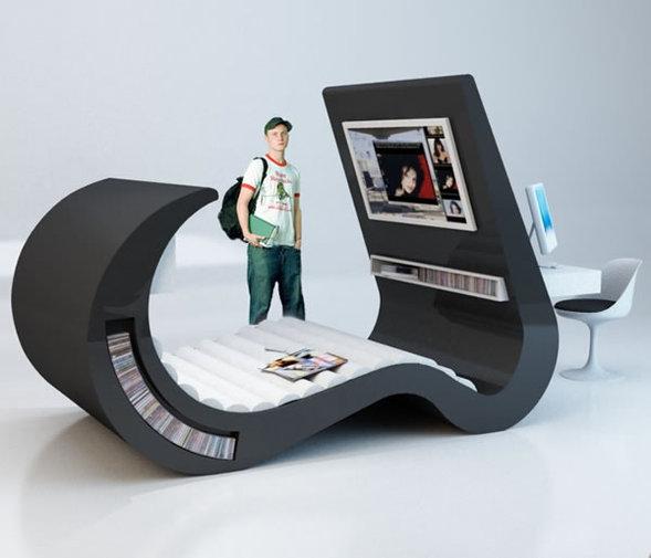 Волновая мебель будущего отРоберты Рамме. Изображение № 3.