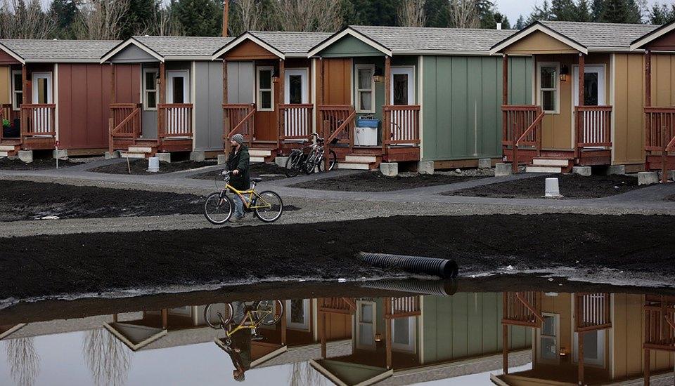 Фото: необычные проекты жилья для бездомных . Изображение № 6.