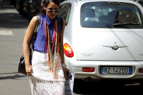 Изображение 4. Девушки на Milan Fashion Week: день 3 и 4.. Изображение № 4.