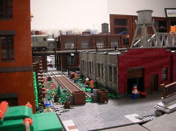 Изображение 16. Улицы Нью-Йорка из конструктора LEGO.. Изображение № 16.