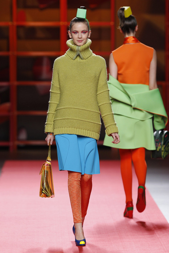 Madrid Fashion Week A/W 2012: Agatha Ruiz de la Prada. Изображение № 2.