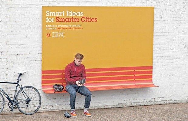 Компания IBM Smart Ideas for Smarter Cities  ставит своей целью улучшение городского пространства. Изображение №7.