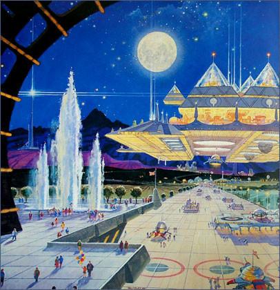 Каким было будущее. Космореализм Роберта МакКолла. Изображение № 20.