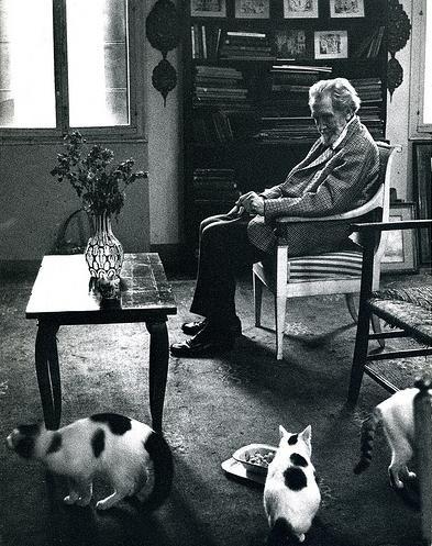 Знаменитые писатели и котики. Изображение № 14.