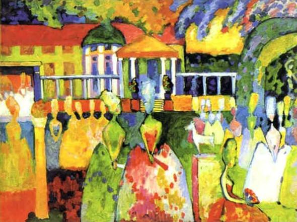 Коллекция работ В.В. Кандинского. Изображение № 45.
