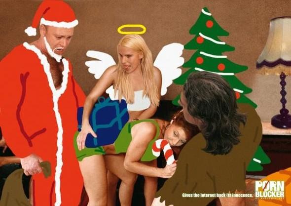 69 рождественских рекламных плакатов. Изображение № 56.
