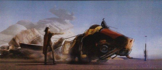 В Сеть выложили 32 концепт-арта для «Звёздных войн VII». Изображение № 21.