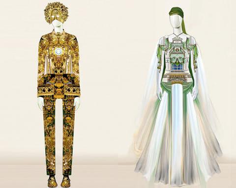 Изображение 2. Мэри Катранзу создала костюмы для выставки.. Изображение № 1.