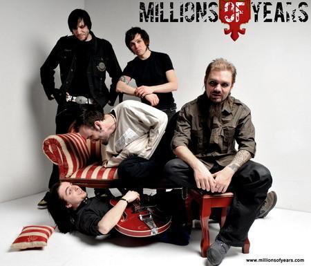 "MILLIONS OF YEARS - новый сингл и видео ""Burning Out"". Изображение № 1."