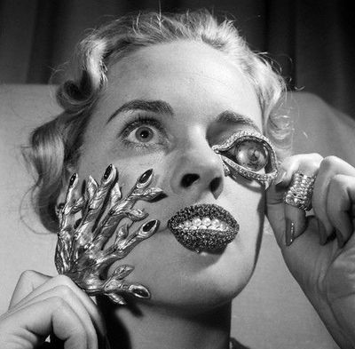 Ghoulish glamour. Готовимся к Хеллоуину. Изображение № 7.