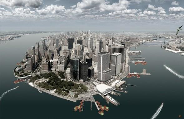 Ист-ривер осветит улицы Нью-Йорка. Изображение № 1.