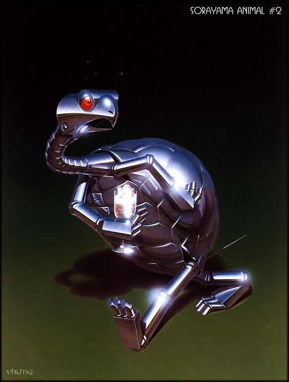 Японский художник Hajime Sorayama. Изображение № 14.