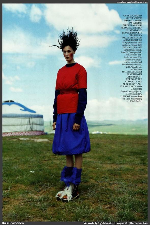 Съёмка: Тим Уокер для британского Vogue. Изображение № 4.
