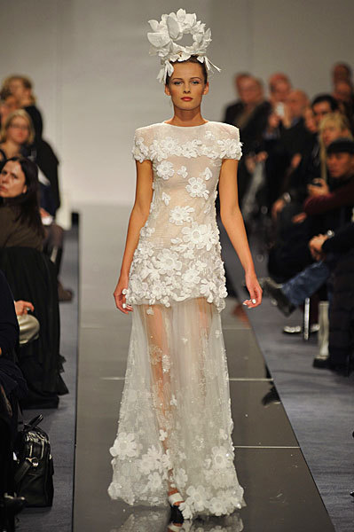 Chanel Spring 2009 Haute Couture. Изображение № 57.