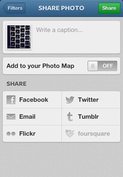 Фото на Instagram теперь можно привязывать к карте. Изображение №5.