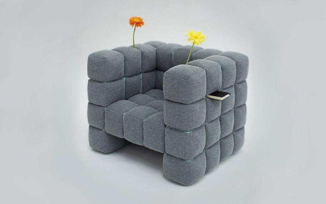 Объект желания: кресло, в котором можно хранить книги. Изображение № 2.
