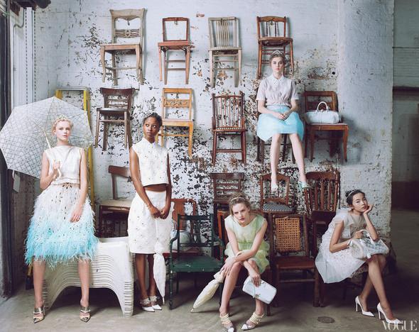 Превью съёмки: Марк Джейкобс и модели для Vogue. Изображение № 3.
