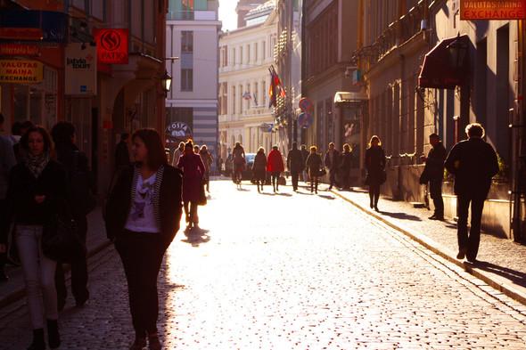 Золотая осень в Риге. Изображение № 16.