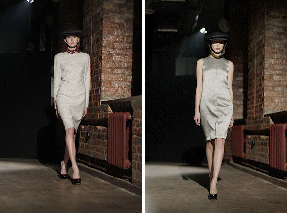 Изображение 1. Bezous FW 2011: брюки со стрелками и платья-футляры.. Изображение № 1.