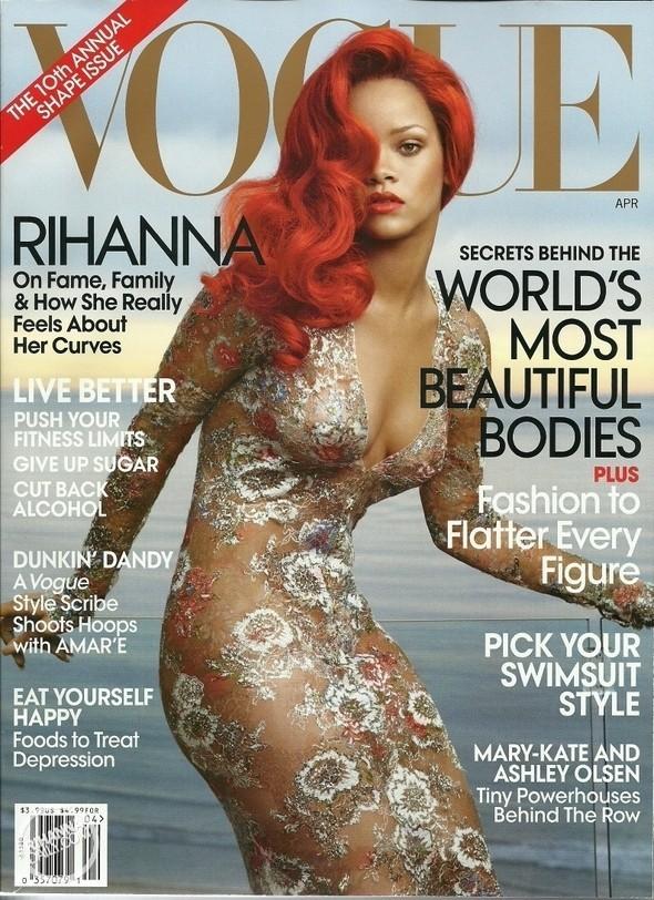 Изображение 5. Обложки Vogue: Америка, Германия и другие.. Изображение № 1.