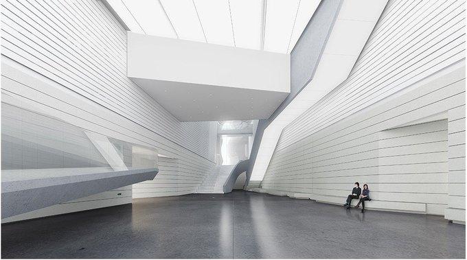 Архитектура дня: музей в Китае сбелым «слоёным» фасадом. Изображение № 21.