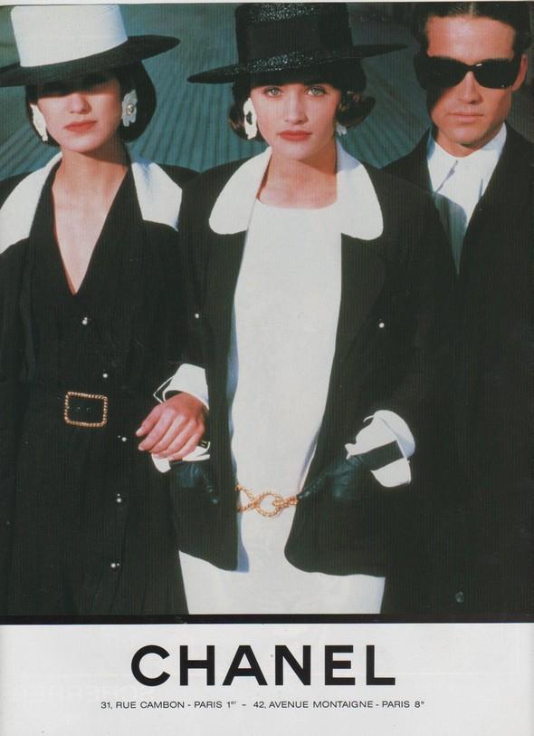 Архивная съёмка: Рекламная кампания Chanel SS 1990. Изображение № 5.