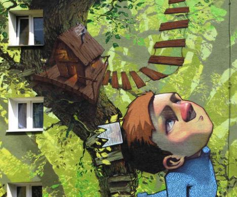6 невероятных проектов уличных фресок. Изображение № 2.