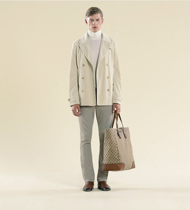 Показаны новые лукбуки Gucci, Louis Vuitton и Prada. Изображение № 38.
