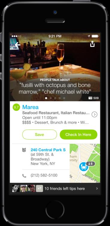 Обновилось приложение Foursquare для iOS 7. Изображение № 1.