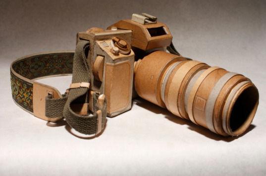 Картонные фотокамеры Киля Джонсона. Изображение № 5.