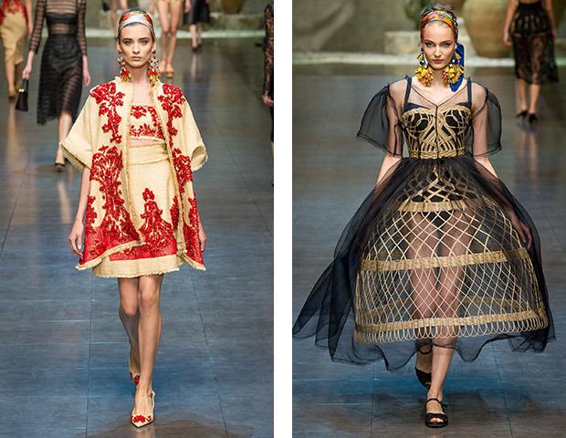 MFW SS 13: Показы Dolce & Gabbana, Fendi, Jil Sander, Marni и Versace. Изображение №3.