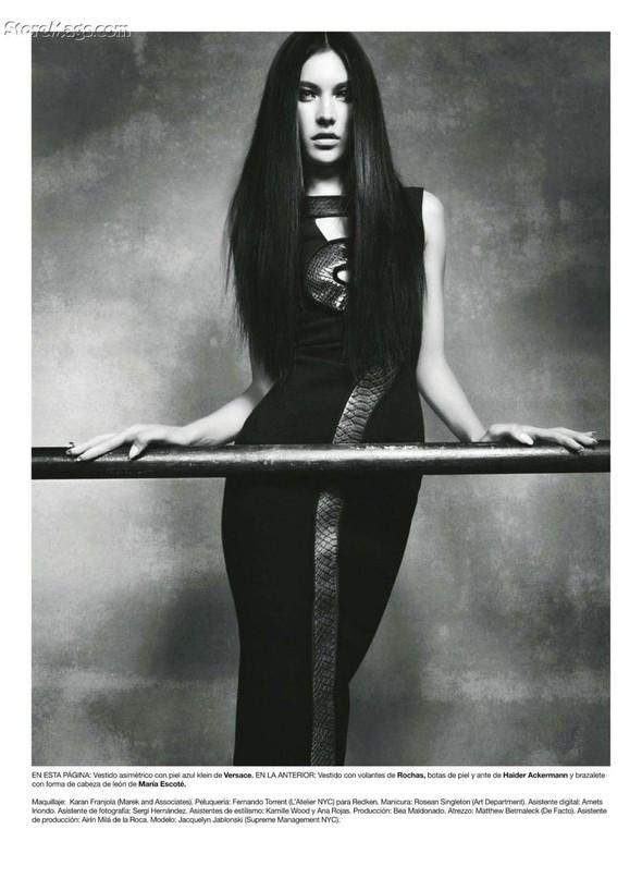 Съёмка: Жаклин Яблонски для Harper's Bazaar. Изображение № 14.