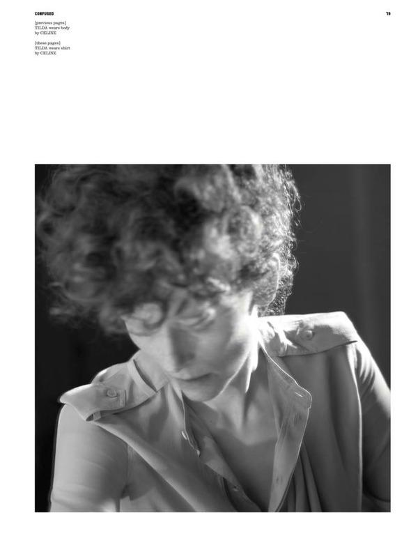 Фэшн-видео с Тильдой Суинтон и еще 10 модных съемок актрисы. Изображение № 33.