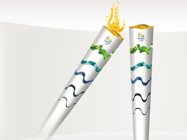 Бразилия показала дизайн факела для Олимпиады 2016 года. Изображение № 4.