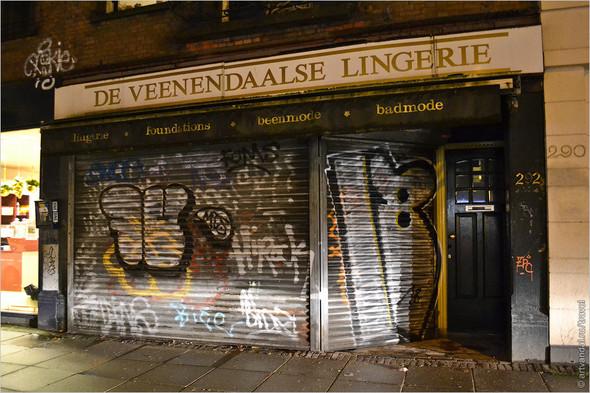 Стрит-арт и граффити Амстердама, Нидерланды. Изображение № 43.
