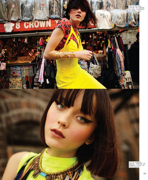 Новые съемки: Vogue, Nylon и другие. Изображение № 2.